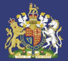Royal Coat of Arms of the United Kingdom of Great Britain and Northern Ireland by ziruc