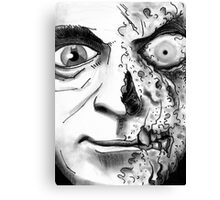 Rogues Gallery - Twoface Canvas Print