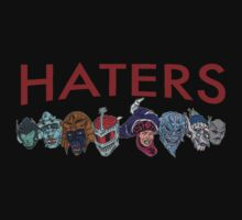 Haters by craftymcvillain