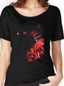 Dalek Beta – Red Women's Relaxed Fit T-Shirt