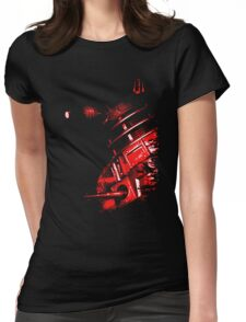 Dalek Beta – Red Womens Fitted T-Shirt
