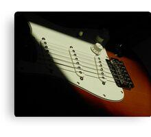 Fender Guitar Canvas Print