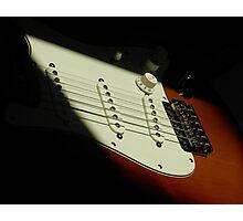 Fender Guitar Photographic Print