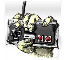 Zombie NES Poster