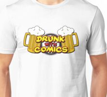 Drunk With Comics Unisex T-Shirt