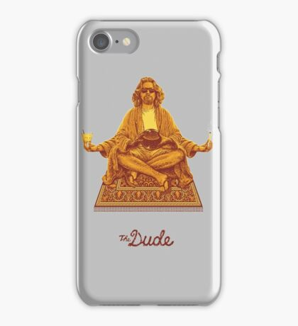 The Dude Budha The Big Lebowski iPhone Case/Skin