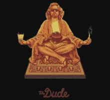 The Dude Budha The Big Lebowski Kids Tee