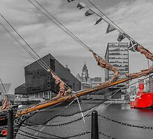 Liverpool waterfront by Beverley Goodwin