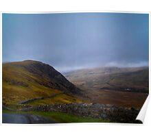 Ireland Hills Poster