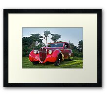 1947 Delahaye 135M Pennock Cabriolet II Framed Print