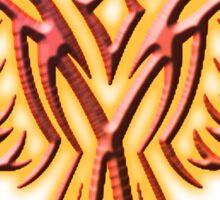 FIRE, Fire Bird, Phoenix, Phenix, Bird, Rising from the flames, Mythology, Tribal, Sticker