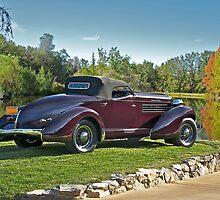 1936 Auburn 'Boat Tail' Speedster II by DaveKoontz