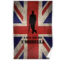Mycroft - A man and his umbrella  Poster