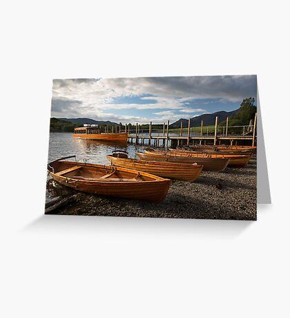 Derwent Water Greeting Card