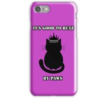 """""""It's good to rule by paws"""" Jack iPhone Case/Skin"""
