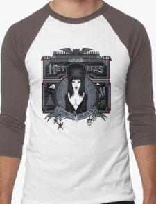 Mistress Ghost Tours Men's Baseball ¾ T-Shirt