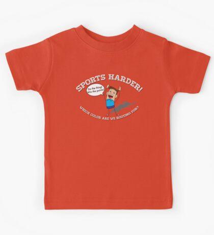 Sports Harder Kids Tee