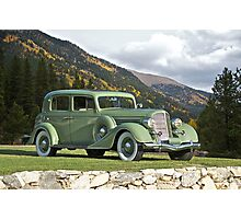 1935 Buick Club Sedan Photographic Print
