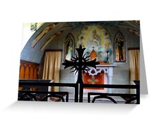 Italian Chapel, Orkney Greeting Card