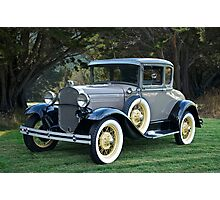 1931 Ford Model A Coupe III Photographic Print
