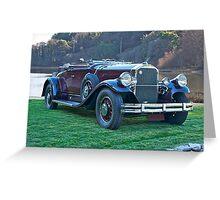 1930 Pierce-Arrow B Roadster II Greeting Card