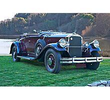 1930 Pierce-Arrow B Roadster II Photographic Print