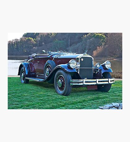 1930 Pierce-Arrow B Roadster II Photographic Print