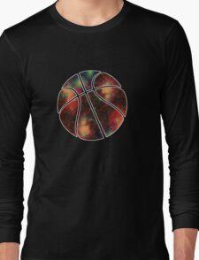 Basketball Galaxy Long Sleeve T-Shirt