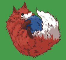 Firefox Baby Tee
