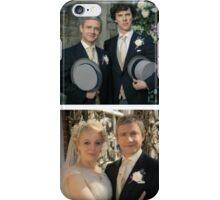 John and Mary Watson's Wedding Sherlock BBC   iPhone Case/Skin
