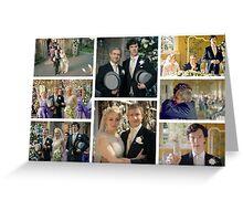 John and Mary Watson's Wedding Sherlock BBC   Greeting Card