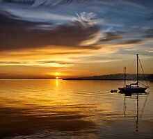 Port Angeles Sunrise by Kathy Weaver