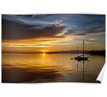 Port Angeles Sunrise Poster