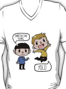 Star Trek - Spock and Kirk T-Shirt