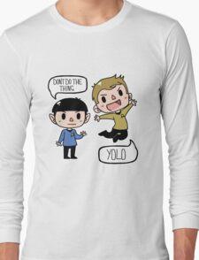 Star Trek - Spock and Kirk Long Sleeve T-Shirt