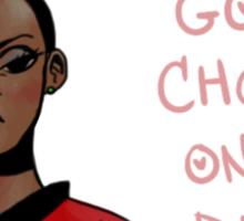 Uhura- Feminist Sticker Sticker