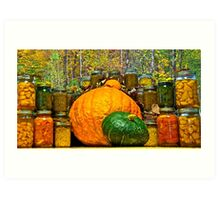 Autumn Treasures Art Print