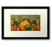 Autumn Treasures Framed Print