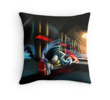 Escape the Death Egg Sonic Throw Pillow