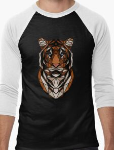 <Acquire the tiger> Men's Baseball ¾ T-Shirt