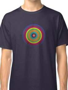 CIRCLE blue green yellow orange red violet  Classic T-Shirt