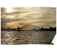 Sydney Harbour - Naval Celebrations Poster