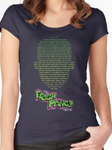 The Fresh Prince of Bel-Air  Women's Fitted Scoop T-Shirt