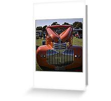 1946 Chev Pickup Greeting Card