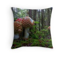 Thats Just The Way We Are ~ Mushrooms ~ Throw Pillow