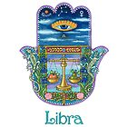 Hamsa for Libra by Nonna Mynatt