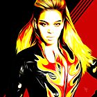 Beyonce - Sasha Fierce - Pop Art by wcsmack