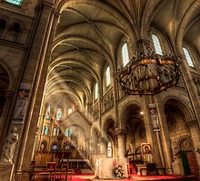 Saint Ambroise by Andrew Dickman