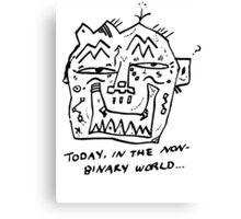 Non-Binary Canvas Print