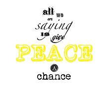 Peace by GivenToArt